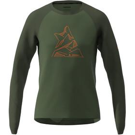 Zimtstern PureFlowz Langarmshirt Herren oliv/grün